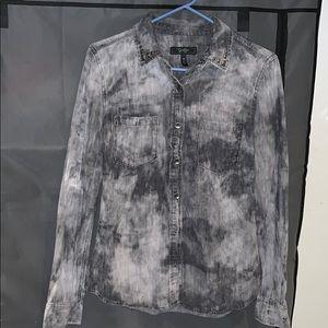 Tye Dye Button Down Shirt